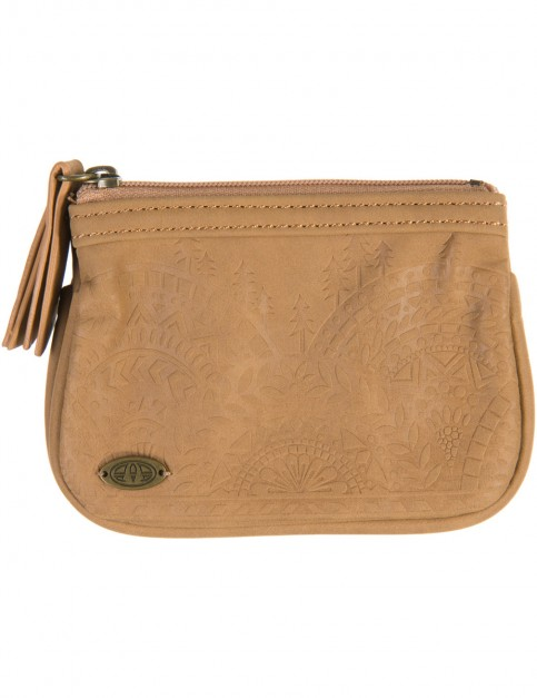 Animal Nami Faux Leather Wallet in Brown