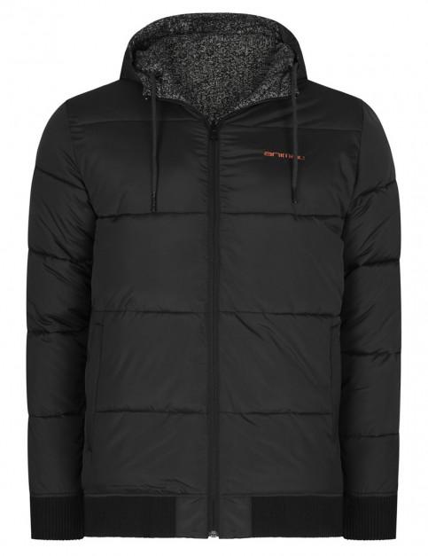 Animal Saffa Reversible Fashion Jacket in Black