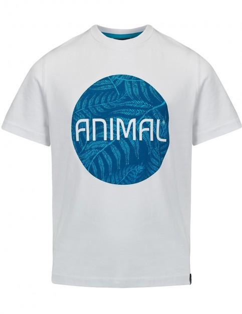 Animal Tahki Short Sleeve T-Shirt in White