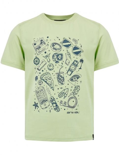 Animal Tomo Short Sleeve T-Shirt in Pistachionut Green
