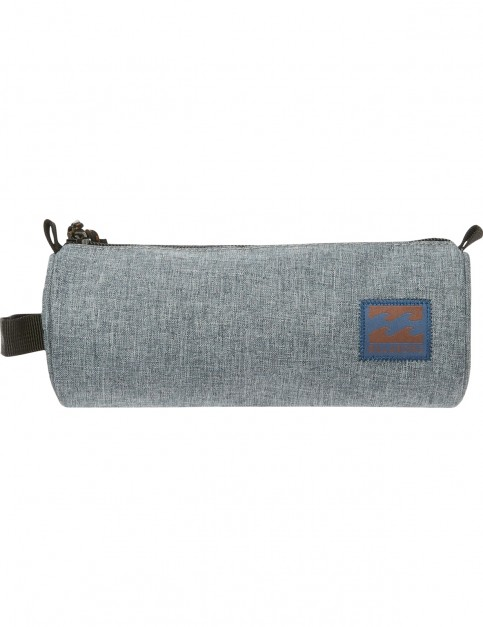 Billabong Barrel Pencil Case in Dark Slate Heather