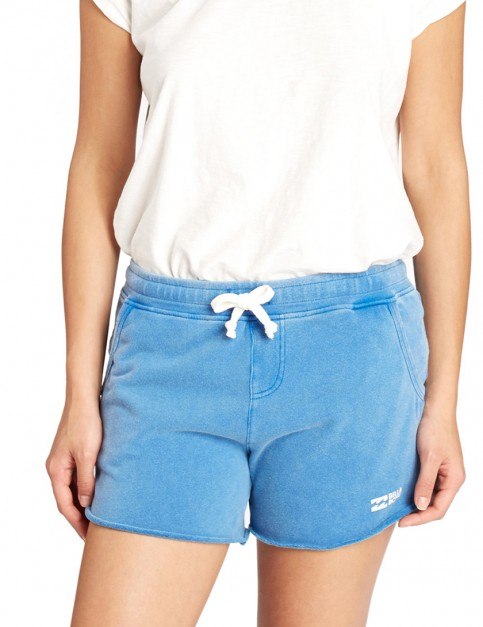 Billabong Essential Sweat Shorts in Costa Blue