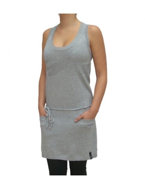 Billabong Clelia Dress in Heather Grey