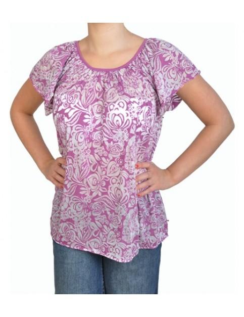 Billabong Newquay Short Sleeve T-Shirt in Purple