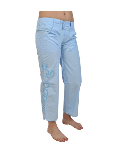 Billabong Patterson Cropped Trousers in Azur Blue