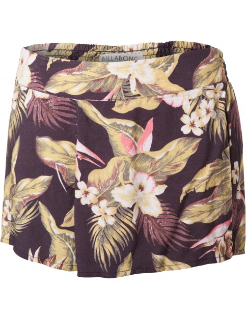 Billabong Mystic Pearl Fashion Shorts in Off Black