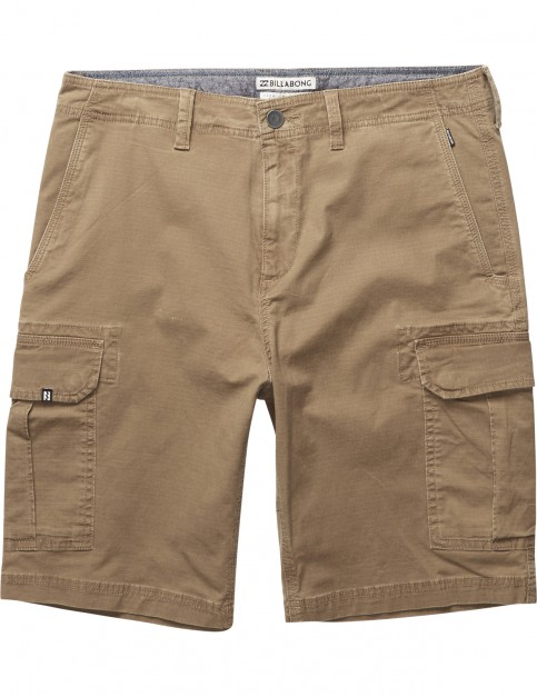 Billabong Scheme Cargo Shorts in Camel