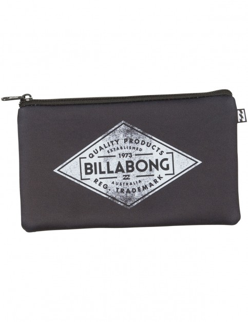 Billabong Shorebreak Pencil Case in Black