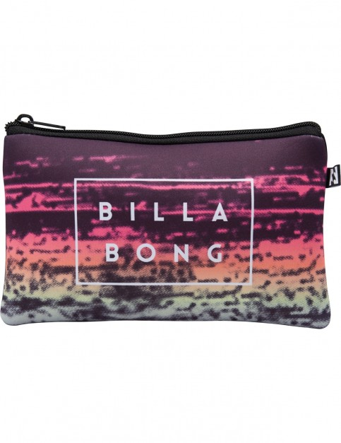 Billabong Shorebreak Pencil Case in Black Multi