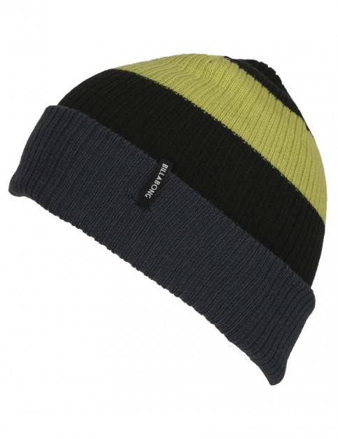 Billabong Slice Reversible Beanie in Black