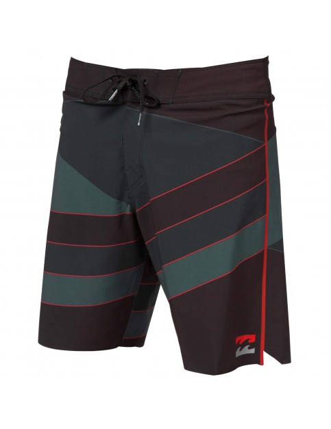 Billabong Slice X Pro 19 Technical Board Shorts in Stealth