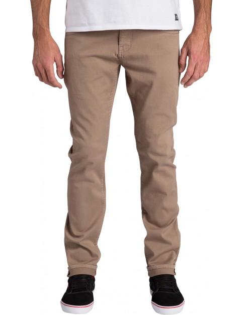 Billabong Slim Outsider Slim Leg Trousers in Khaki