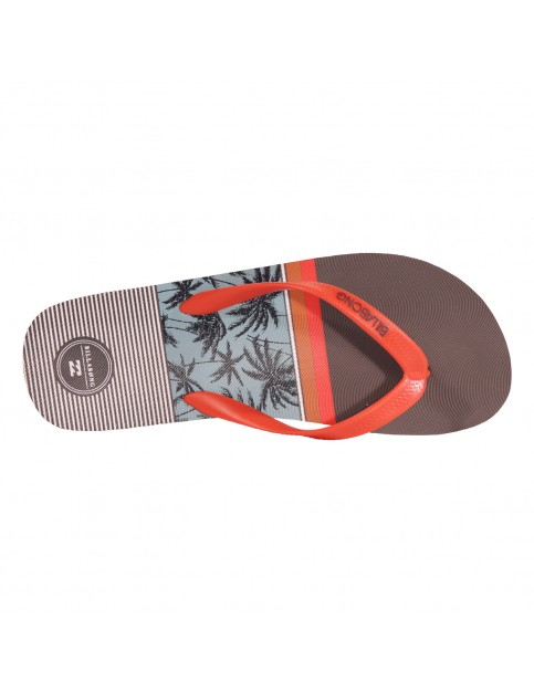 Billabong Tapa Flip Flops in Asphalt