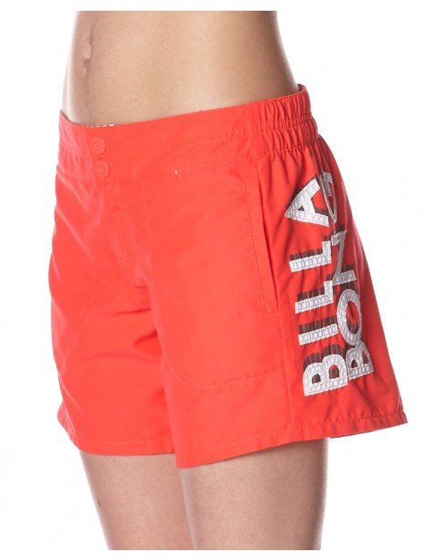 Billabong Washaway Short Board Shorts in Red Hot