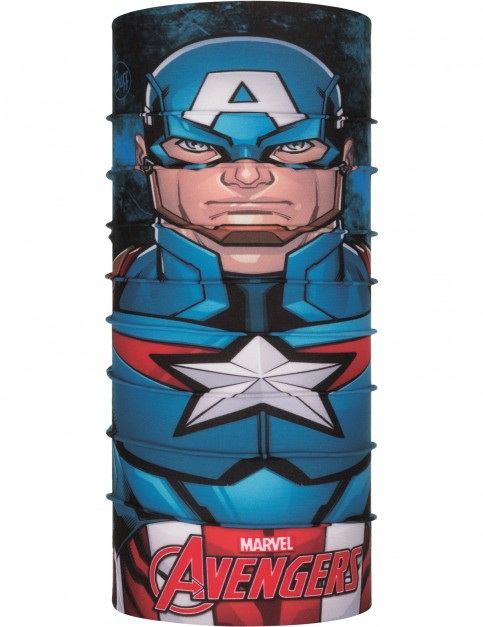 Buff New Original Jnr Neck Warmer in Captain America