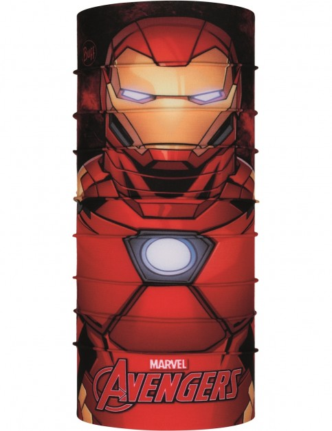 Buff New Original Jnr Neck Warmer in Iron Man
