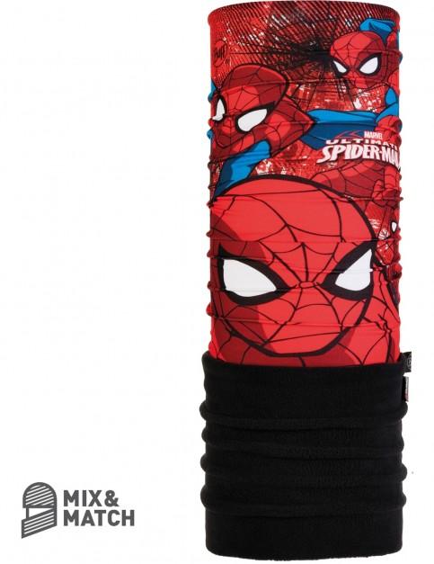 Buff Polar Jnr Superheroes Neck Warmer in Spiderman