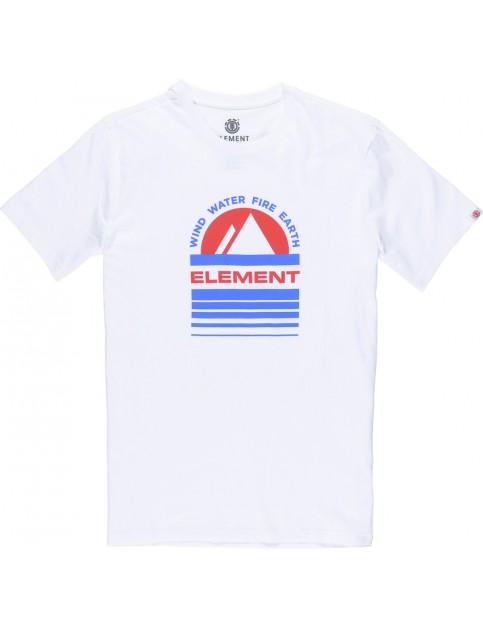 Element Apex Short Sleeve T-Shirt in Optic White