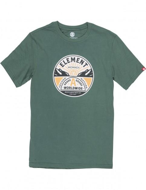 Element Grade A Short Sleeve T-Shirt in Hunter Green