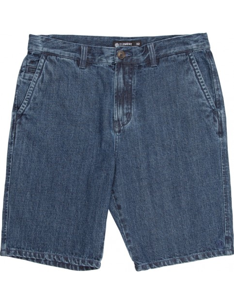 Element Howland Denim Shorts in Indigo Mid Used