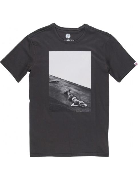 Element Jake Darwen Short Sleeve T-Shirt in Off Black