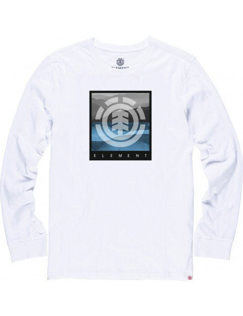 Element Rolling Long Sleeve T-Shirt in Optic White