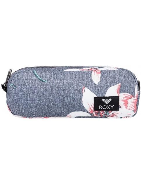 Roxy Da Rock Pencil Case in Charcoal Heather Flo
