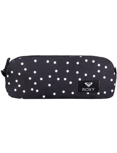 Roxy Da Rock Pencil Case in True Black Dots For Days