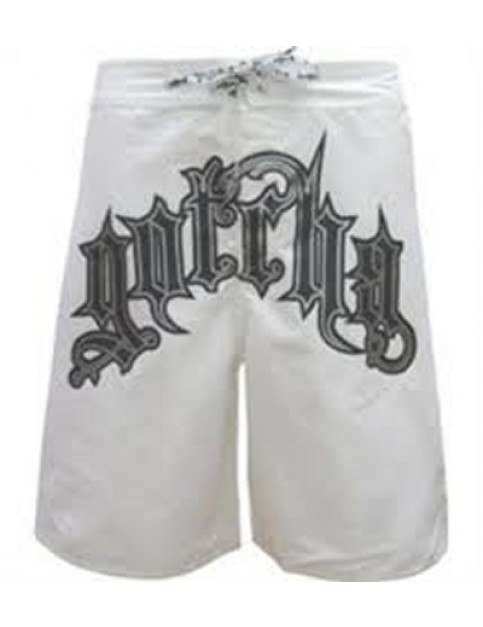 Gotcha Pat B Mid Length Board Shorts in White