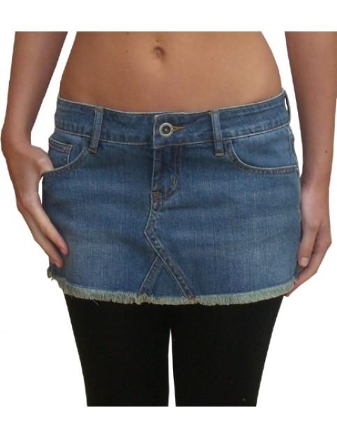 Hurley 72 Vintage Skirt in Denim