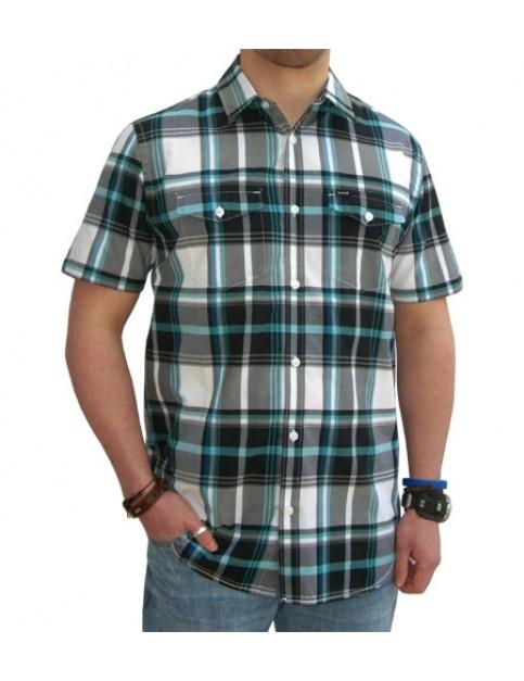 Hurley Harbor Short Sleeve Shirt in Black