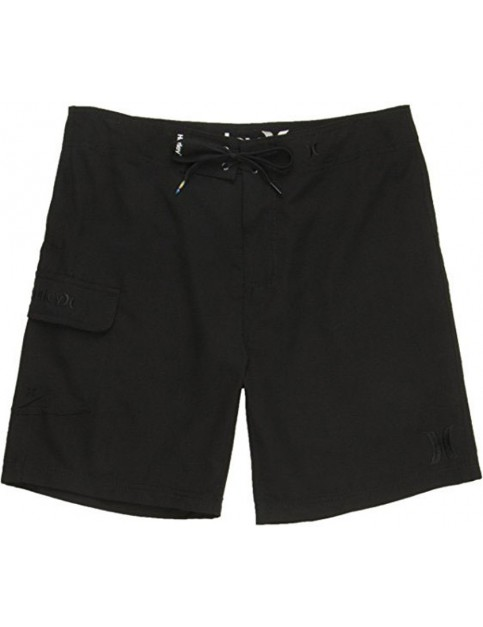 Hurley One And Only 19 Mid Length Board Shorts in Black