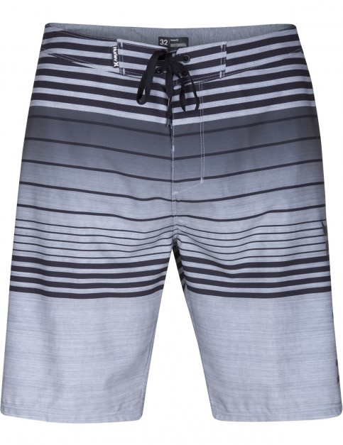 Hurley Phantom Peters Mid Length Boardshorts in Black