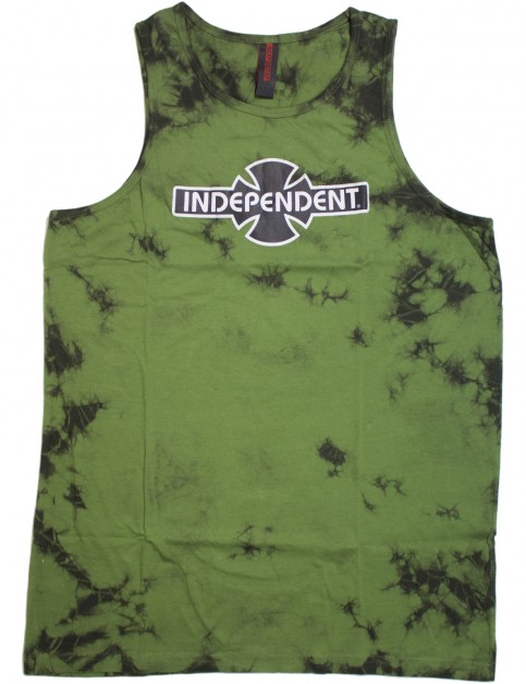 Independent OGBC Sleeveless T-Shirt in Green Marble