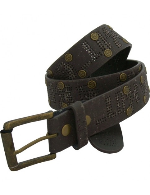 Lost Cairo Leather Belt in Brown