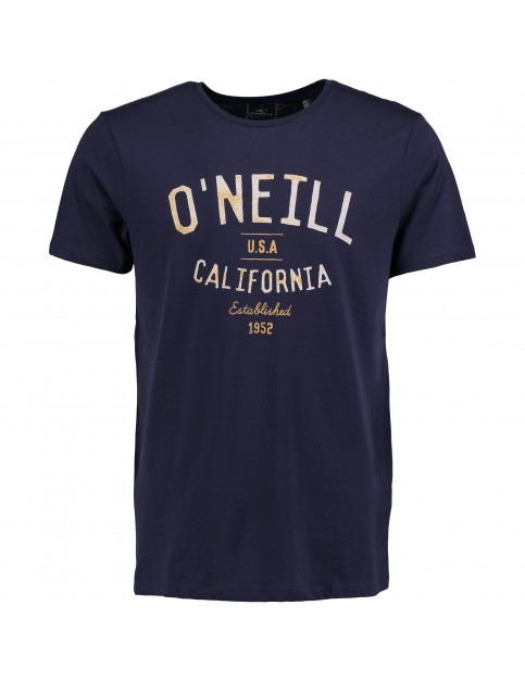 ONeill California Short Sleeve T-Shirt in Navy Night