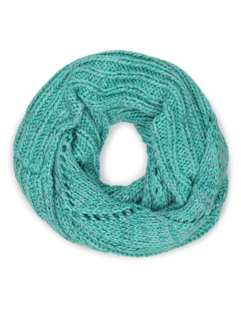 ONeill Fireworks Knitted Scarf in Spearmint