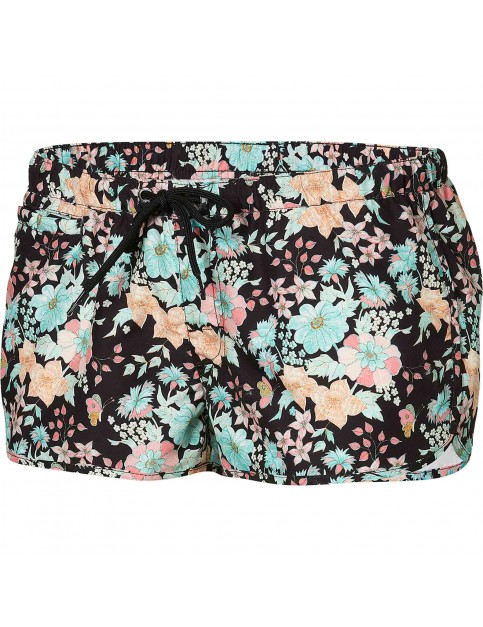 ONeill Ruby Short Board Shorts in Pink Aop W/Black