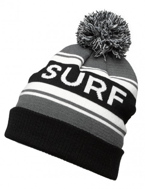 ONeill Statement Bobble Hat in Black Out