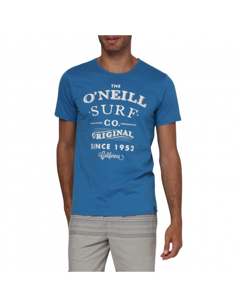 ONeill The Arc Short Sleeve T-Shirt in Vallarta Blue