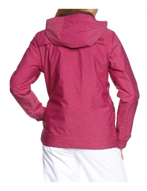 Protest Clipper Snow Jacket in Orchid Pink