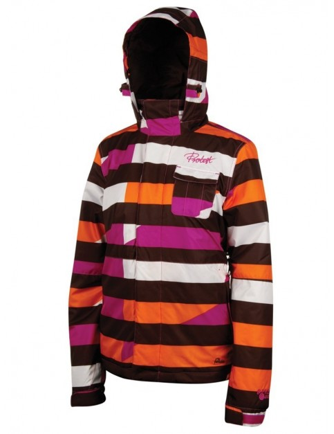 Protest Lauren Snow Jacket in Pink Candy