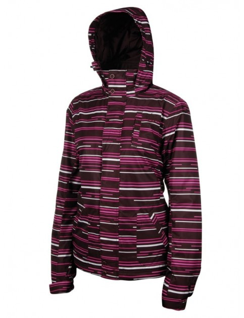 Protest Marlin Snow Jacket in Pink Candy