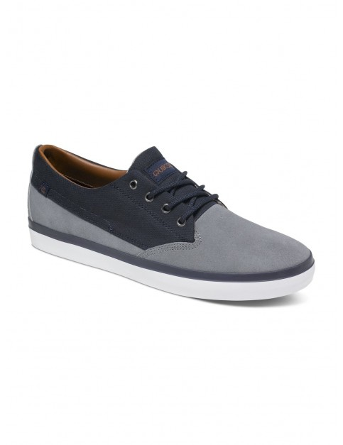 Quiksilver Beacon Trainers in Blue Blue White
