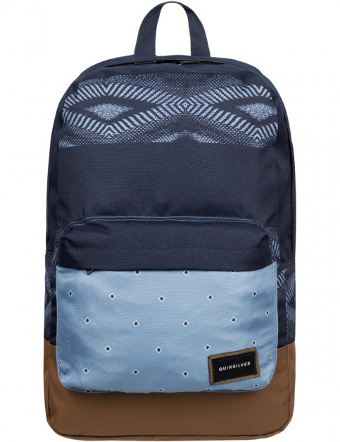Quiksilver Night Track Backpack in Dream Weaver Captains Blue