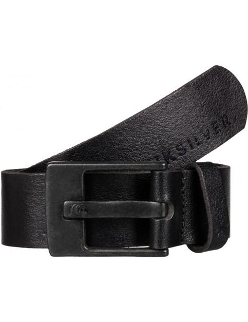 Quiksilver Revival Leather Belt in Black