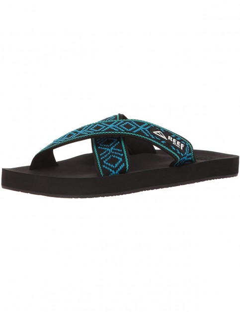 Reef Crossover Sports Sandals in Black/Blue