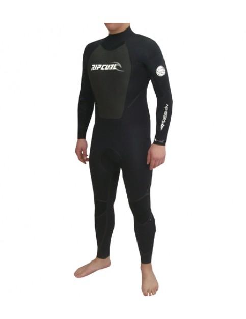 Rip Curl Core Fashion Aquaban 3/2 Full Wetsuit in Black