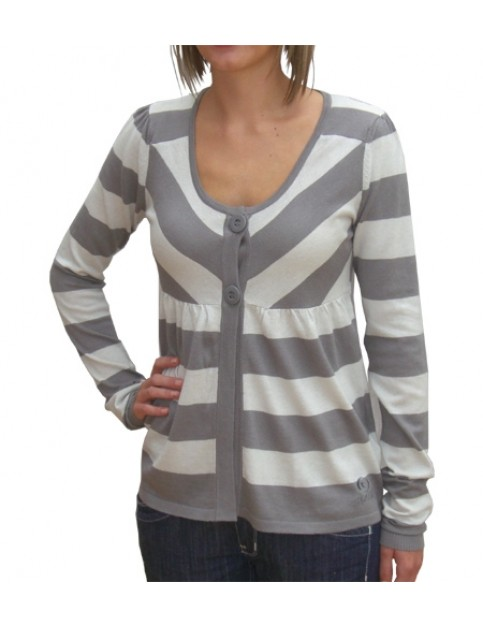 Rip Curl Keira Knitted Jumper in Steel Grey