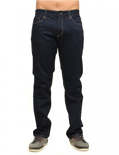 Rip Curl Overrulled Straight Regular Fit Jeans in Rinse